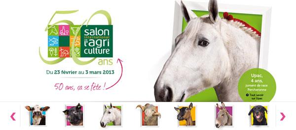 MIP entièrement mobilisé pour le Salon de l'Agriculture de Paris Porte de Versailles 2013 !