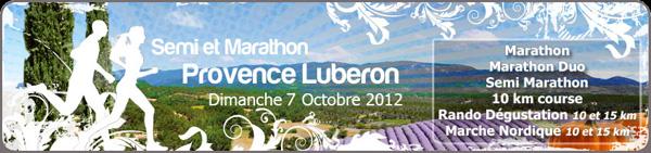 MIP réalise l'assistance médicale du marathon de Provence Lubéron 2011