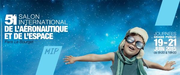 Le salon SIAE – Salon International de l'Aéronautique et de de l'Espace nous revient en 2015 au Parc des expositions du Bourget.
