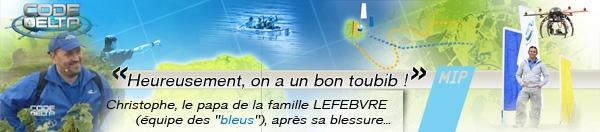 """MIP soigne les petits bobos des concurrents au jeu """"Code Delta"""" sur France 3"""